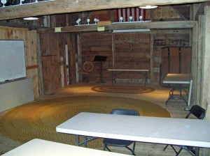 Conklin barn interior 2